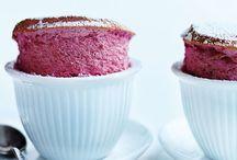 Dessert : Soufflés
