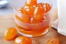 Dessert : Fruits Confits