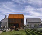 Enough House / MacKay-Lyons Sweetapple Architects / nowoczesna STODOŁA / Enough House to najnowszy element farmy architekta o nazwisku Brian MacKay-Lyons, która znajduje się w Nowej Szkocji
