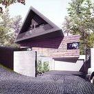 DOM MAŁOPOLSKI / BXBstudio / nowoczesna STODOŁA / Dom Małopolski to budynek mieszkalny zainspirowany tradycyjną małopolską architekturą drewnianą.