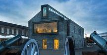 Enniskillen Castle Museum / Hamilton Architects / nowoczesna STODOŁA / Zamek Enniskillen, który pochodzi z XVI wieku, stoi na brzegu rzeki Erne w centrum hrabstwa Fermanagh w Irlandii Północnej.