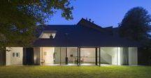 House in Almen / Barend Koolhaas / nowoczesna STODOŁA / Ten dom o trzech ścianach został zaprojektowany przez architekta z Amsterdamu o nazwisku Barend Koolhaas.