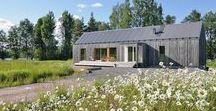 House Aakerudden / MNy Arkitekter / nowoczesna STODOŁA / Firma MNy Arkitekter stworzyła dom Akerudden, który stoi nad jeziorem w wiejskiej okolicy fińskiej miejscowości Tenala.