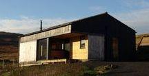 The Black Shed / Rural Design Architects / nowoczesna STODOŁA / The Black Shed, czyli Czarna Szopa, stoi na szkockiej wyspie Skye.