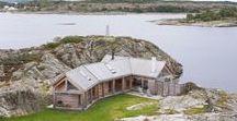 Fritidsbolig HVALER / Morfeus Arkitekter / nowoczesna STODOŁA / Ten dom na norweskim archipelagu otoczony jest przede wszystkim przez wspaniałe widoki.