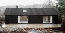Johannes Norlander Arkitektur / House Morran / nowoczesna STODOŁA / Dom stoi na wyspie, z której promem łatwo i szybko można dostać się do szwedzkiego Goteborga.