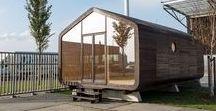 Fiction Factory / Wikkelhouse / nowoczesna STODOŁA / Mieszkaj, pracuj lub odpoczywaj w ekologicznym, prefabrykowanym, kartonowym domku – takimi słowami holenderskie studio Fiction Factory może zachęcać do kupna mobilnego Wikkelhouse, który powstaje w ich warsztacie w Amsterdamie.