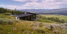 Abramson Teiger Architects / Wyoming Residence / nowoczesna STODOŁA / Rezydencja Wyoming, nawiązując do majestatyczności porośniętego łąkami pasma górskiego Teton, jest świadomym połączeniem odpowiedniej formy i materiałów.