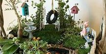 Miniature Fairy Gardens / Pin your own fairy garden ideas & finds! We are curating this board to inspire gardeners, miniaturists, fairy lovers & more with a large variety of resources & examples of fairy gardens and miniature gardens that others have made.  Please source/cite your pins & try not to duplicate. We'll be monitoring for unique quality content on a weekly basis! Inappropriate or off topic pins will be deleted.   FOLLOW or send us a DM if you would like to be included as a pinner. Thanks & enjoy!