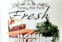 Jams by Hobby Hill Farm Fresh / Jams processed by Hobby Hill Fam