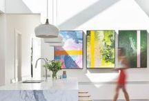 Kitchens / Kitchen design, examples of modern kitchens.