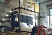 Bedroom / The coolest bedroom designs, bedroom layouts, bedroom decor ideas.