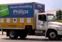 Document Management Solutions / This board is all about services available through Phillips that manage your documents in every part of their lifecycle.  Create - Manage - Protect - Destroy your documents with security!