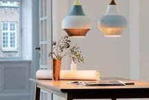 Lighting / Examples of lighting, pendants, sconces, chandeliers, modern lighting.