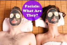 Facials and Peels / Information on types of facials and peels, how they work and what they are.