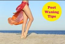 Heads Up on Body Waxing. / Good general info on waxing for both men and women.