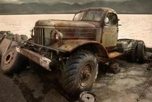 Nostalgic trucks / Old or just plain out there trucks and 4wd's