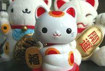 Lucky Kitty, Maneki Neko / by Ana Valdez
