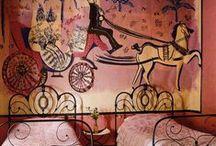 Роспись стен,потолков и мебели.(Painting walls,ceilings and furniture.). / by Nik Pu