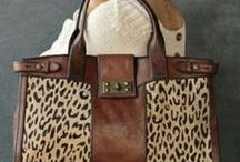 Bag / Leopard, animal print