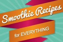 smoothies & juices / Don't drink your calories! Recipes for smoothie bowls. Drink your veg - juices.