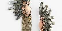 Fashion, Earrings and Gems / My style leans towards timeless, but I love me a good statement piece now and then.