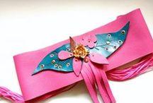 Fajines y cinturones anchos / Cinturones y fajines de piel hechos a mano diseños