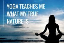 Yoga quotes / Instagram account @namaste_yogis about yoga inspirational quotes created by me.
