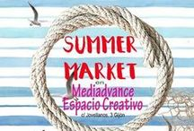 Summer Market Gijon / Participación de Cuerokas en el mercado de artesanía y diseño de Gijón el 11-12 de Junio  en Espacio Creativo calle Jovellanos, 3 frente al paseo de la playa (escalerona).