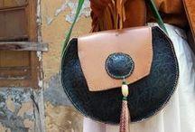 Bolsos esfera Cuerokas / Bolsos de piel redondos hechos a mano. Bolsos de moda artesanos. Diseños exclusivos y piezas únicas