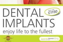 Dental Implants / The best possible solution for missing teeth. From £1150. We have placed over a 1000 dental implants and still counting!