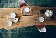 Prodotti / Tables, coffee tables, cutting boards, bowls made by olive solid wood.