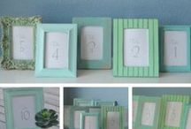 DIY Wedding! / DIY wedding ideas and projects. Centerpieces, chair decor, floral arrangements and more