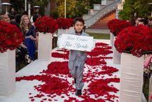 Wedding Aisle Decor / Wedding aisle decor for indoor and outdoor ceremonies.