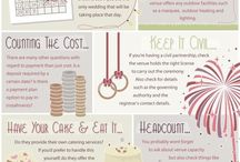 Wedding Help / Info graphics and useful information for wedding planning!