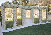 Escort Card Tables & Seating Arrangement displays / The many different designs and styles of escort card tables, seating arrangement features, etc. The most creative ways to help your guests find their seats!