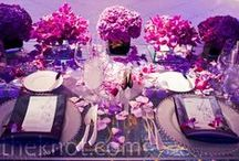 Purple Weddings and Receptions / All about purple! #weddings #receptions