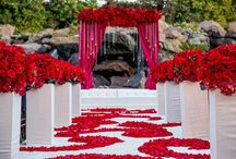 Red Weddings and Receptions / All about Red! #weddings #receptions