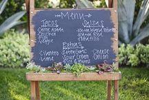 Programs & Menus / Inspiration for wedding program and menu design.