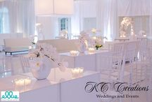 White Wedding / All white weddings and receptions!