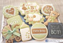 Creative Cookies & Cupcakes / Cookies & Cupcakes so beautiful you wouldn't want to eat them! For weddings, baby showers, birthday parties and more.