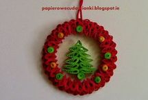 Quilling for Christmas....
