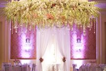 Hanging Flower Creations / Hanging floral arrangements for weddings and special events