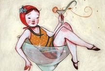 illustrations, dessins, peintures..inspirations!