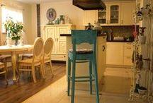 Kitchen / kitchen, retro, old, schabby chic, renovation,