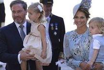 Madeleine´s family / S.A.R. A Princesa Madeleine da Suécia,casada com Christopher O´Neil desde 2013 e seus filhos, os Príncipes Leonore e Nicolas.   H.R.H.Princess Madeleine of Sweden,married to Mr.Christopher O'Neil since 2013 and children, Princess Leonore(2014) and Prince Nicolas(2015).