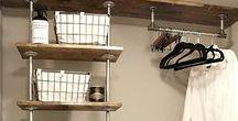 Kee KlampでDIYしよう!おしゃれな海外のパイプDIYアイデアまとめ / インダストリアルな空間づくりに人気のガス管や単管を使ったパイプラックが大人気!Kee Klampを使えば、パイプ長さにとらわれることなく、ジャストサイズの家具やアクセサリが完成です。本棚やランドリー収納の実例多数。店舗什器やベッドもあります。さて、あなたは何作る??
