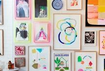 studio spaces & art walls