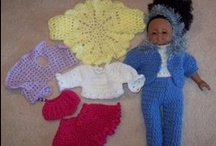 Dolls clothes & accessories / by Dell Furnivall