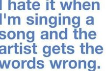 Singer/Song Humour plus Tips / This is a split off from my Singer and Music Education Board (& Teach Better) more of a fun place!